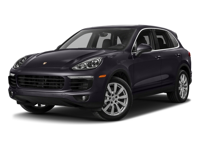Purpurite Metallic 2017 Porsche Cayenne Pictures Cayenne S AWD photos front view