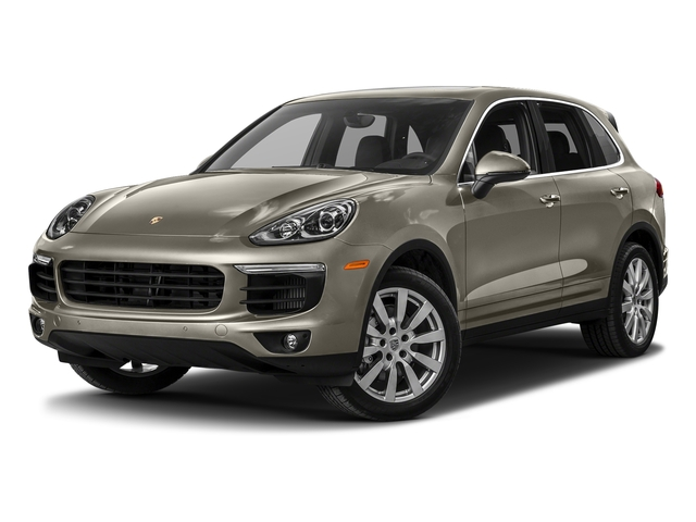 Palladium Metallic 2017 Porsche Cayenne Pictures Cayenne S AWD photos front view
