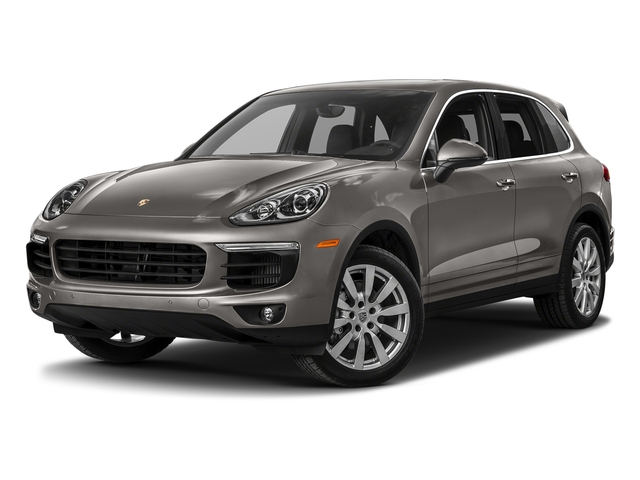 Meteor Grey Metallic 2017 Porsche Cayenne Pictures Cayenne S AWD photos front view