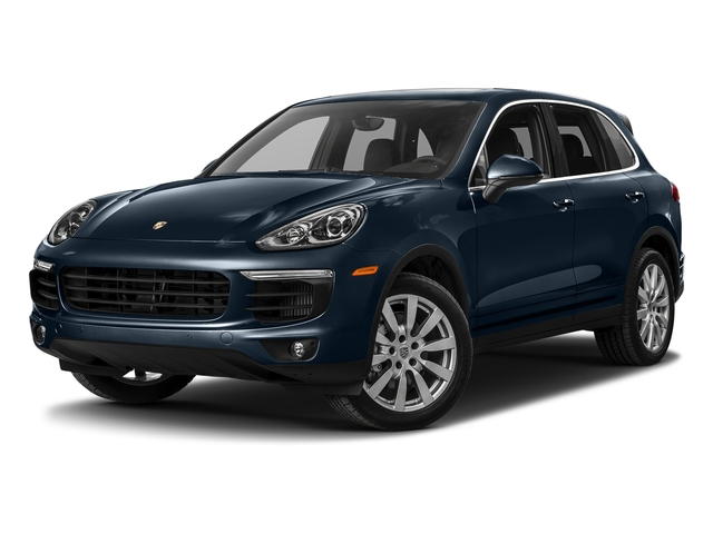Moonlight Blue Metallic 2017 Porsche Cayenne Pictures Cayenne S AWD photos front view