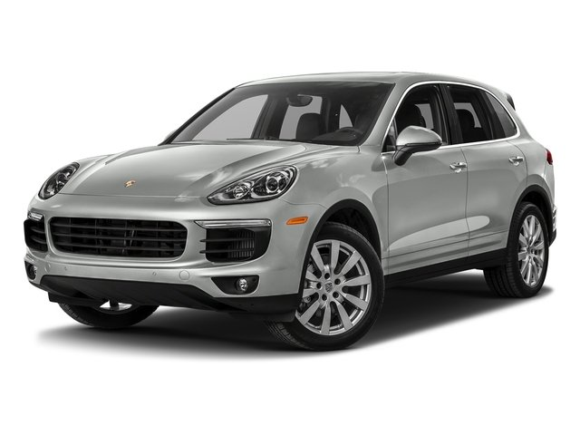 Rhodium Silver Metallic 2017 Porsche Cayenne Pictures Cayenne S AWD photos front view