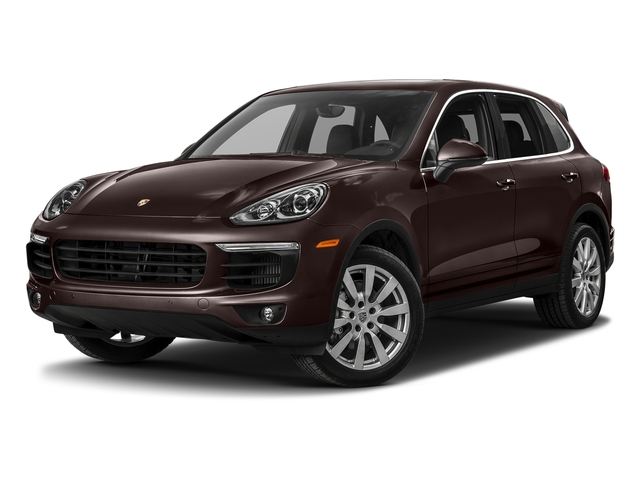 Mahogany Metallic 2017 Porsche Cayenne Pictures Cayenne S AWD photos front view