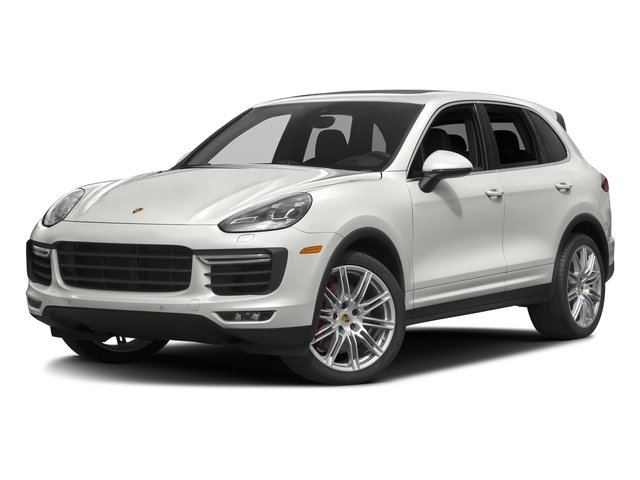 White 2017 Porsche Cayenne Pictures Cayenne Turbo AWD photos front view