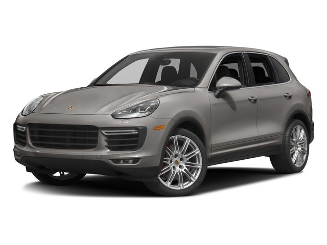 Meteor Grey Metallic 2017 Porsche Cayenne Pictures Cayenne Turbo AWD photos front view