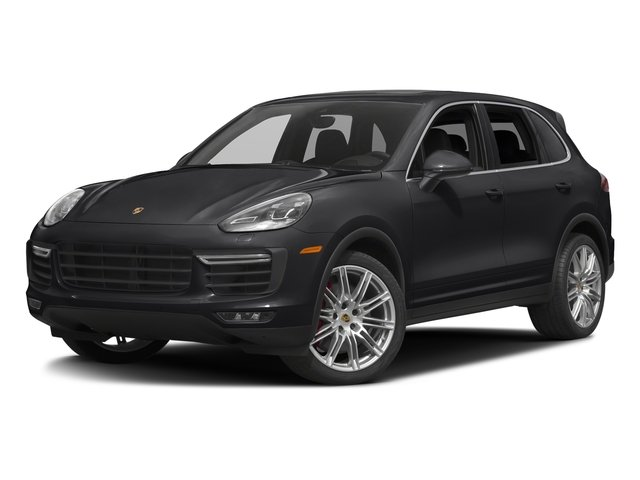 Black 2017 Porsche Cayenne Pictures Cayenne Turbo AWD photos front view