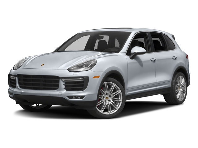 Rhodium Silver Metallic 2017 Porsche Cayenne Pictures Cayenne Utility 4D S AWD V8 Turbo photos front view