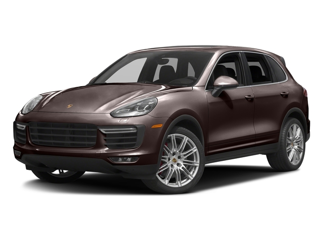 Mahogany Metallic 2017 Porsche Cayenne Pictures Cayenne Turbo AWD photos front view