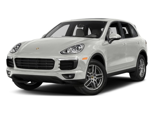 White 2017 Porsche Cayenne Pictures Cayenne Utility 4D AWD V6 photos front view