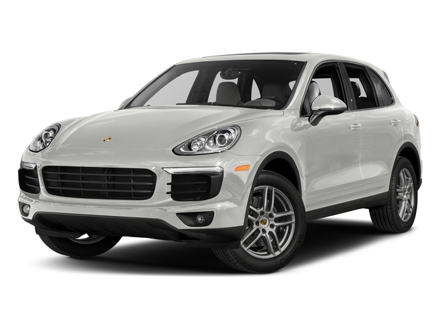 White 2017 Porsche Cayenne Pictures Cayenne AWD photos front view