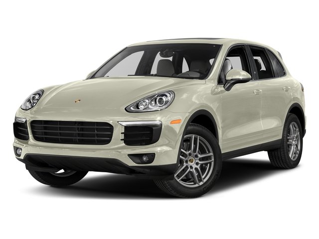 Carrara White Metallic 2017 Porsche Cayenne Pictures Cayenne AWD photos front view