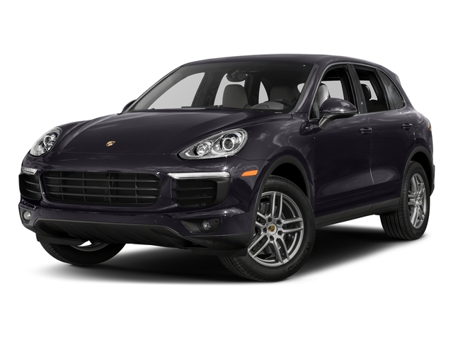 Purpurite Metallic 2017 Porsche Cayenne Pictures Cayenne AWD photos front view