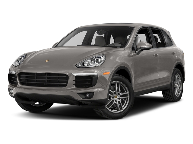 Meteor Grey Metallic 2017 Porsche Cayenne Pictures Cayenne AWD photos front view