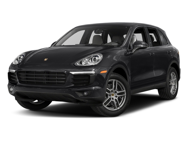 Black 2017 Porsche Cayenne Pictures Cayenne AWD photos front view
