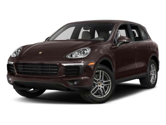 Mahogany Metallic 2017 Porsche Cayenne Pictures Cayenne AWD photos front view