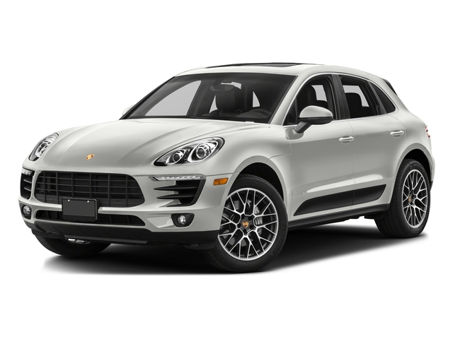 White 2017 Porsche Macan Pictures Macan Utility 4D Performance AWD V6 Turbo photos front view