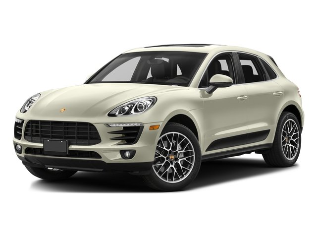 Carrara White Metallic 2017 Porsche Macan Pictures Macan Utility 4D Performance AWD V6 Turbo photos front view