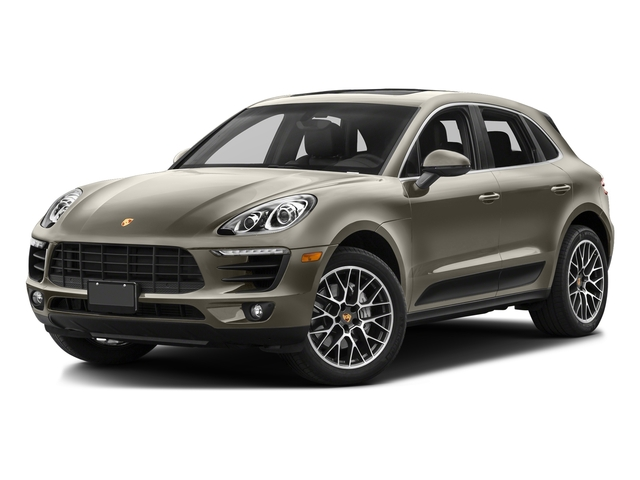Palladium Metallic 2017 Porsche Macan Pictures Macan Utility 4D S AWD V6 Turbo photos front view