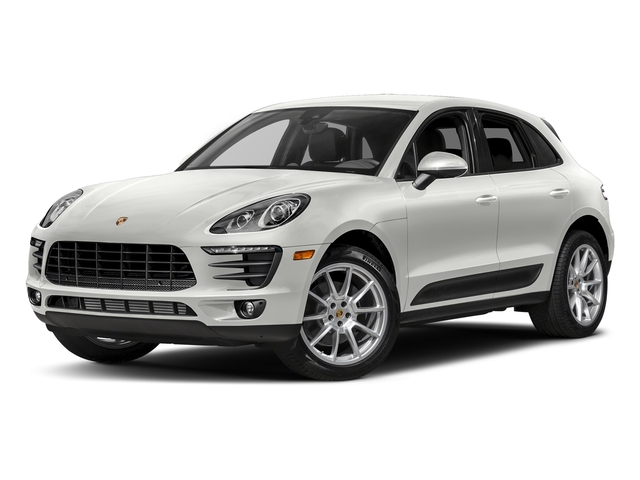 White 2017 Porsche Macan Pictures Macan Utility 4D AWD I4 Turbo photos front view