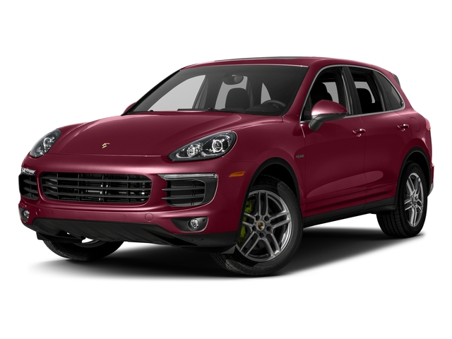Carmine Red 2017 Porsche Cayenne Pictures Cayenne S E-Hybrid AWD photos front view