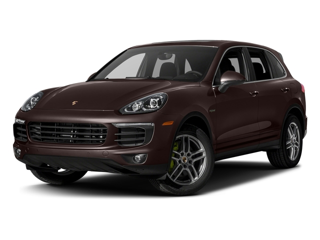 Mahogany Metallic 2017 Porsche Cayenne Pictures Cayenne S E-Hybrid Platinum Edition AWD photos front view