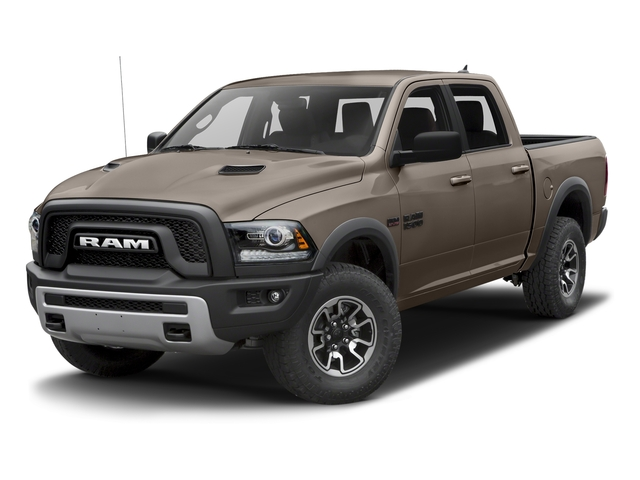 Mojave Sand Clearcoat 2017 Ram Truck 1500 Pictures 1500 Rebel 4x2 Crew Cab 5'7 Box photos front view