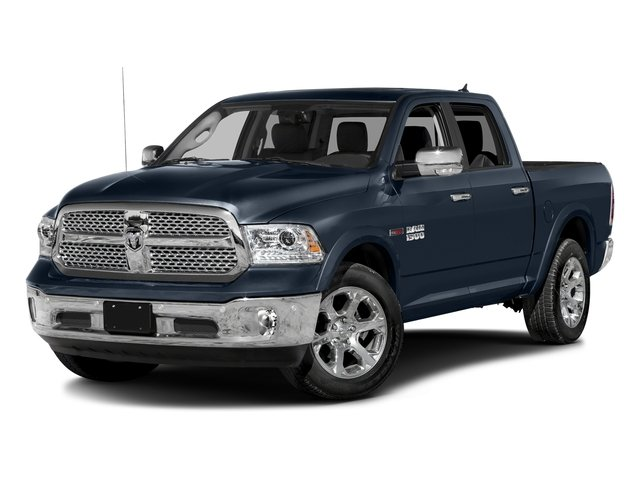 True Blue Pearlcoat 2017 Ram Truck 1500 Pictures 1500 Laramie 4x4 Crew Cab 6'4 Box photos front view