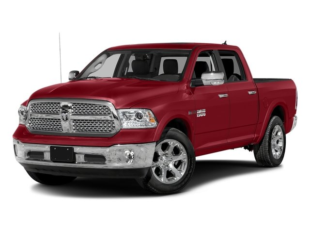 Flame Red Clearcoat 2017 Ram Truck 1500 Pictures 1500 Crew Cab Laramie 4WD photos front view