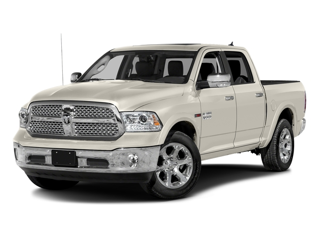 Pearl White 2017 Ram Truck 1500 Pictures 1500 Laramie 4x4 Crew Cab 6'4 Box photos front view