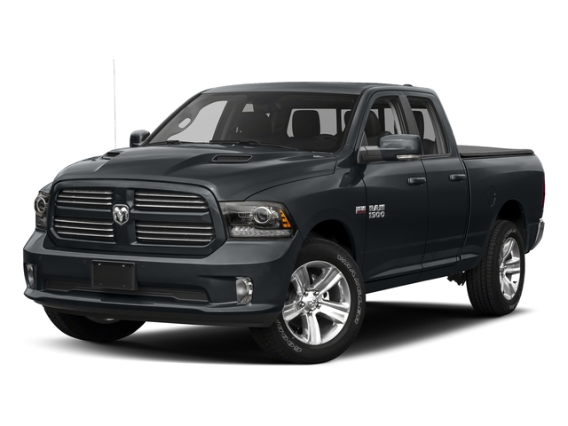 Maximum Steel Metallic Clearcoat 2017 Ram Truck 1500 Pictures 1500 Night 4x2 Quad Cab 6'4 Box photos front view