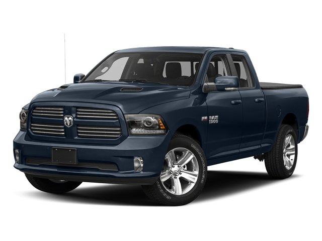 True Blue Pearlcoat 2017 Ram Truck 1500 Pictures 1500 Quad Cab Sport 2WD photos front view