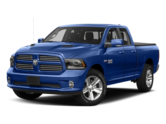 Blue Streak Pearlcoat 2017 Ram Truck 1500 Pictures 1500 Night 4x2 Quad Cab 6'4 Box photos front view