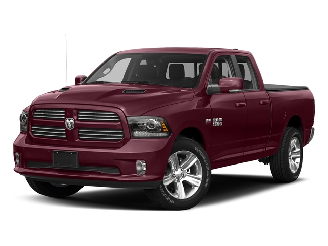Delmonico Red Pearlcoat 2017 Ram Truck 1500 Pictures 1500 Quad Cab Sport 2WD photos front view