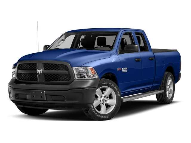 Blue Streak Pearlcoat 2017 Ram Truck 1500 Pictures 1500 HFE 4x2 Quad Cab 6'4 Box photos front view
