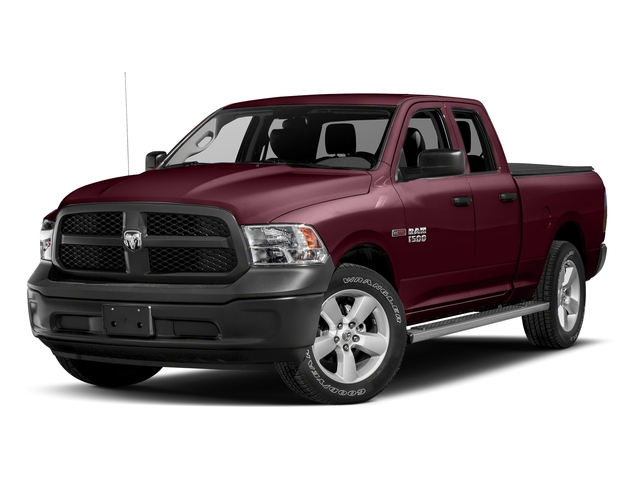 Delmonico Red Pearlcoat 2017 Ram Truck 1500 Pictures 1500 HFE 4x2 Quad Cab 6'4 Box photos front view