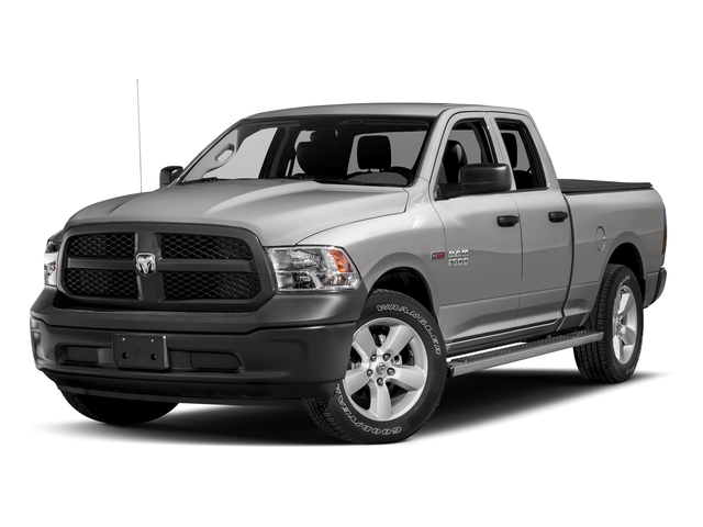 Bright Silver Metallic Clearcoat 2017 Ram Truck 1500 Pictures 1500 HFE 4x2 Quad Cab 6'4 Box photos front view