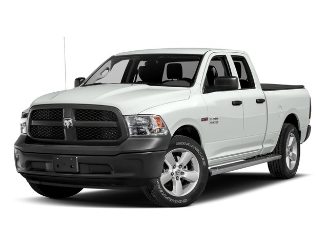 Bright White Clearcoat 2017 Ram Truck 1500 Pictures 1500 HFE 4x2 Quad Cab 6'4 Box photos front view
