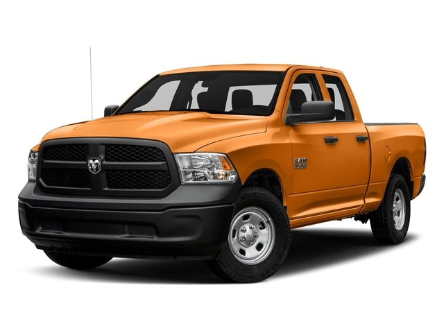 Omaha Orange 2017 Ram Truck 1500 Pictures 1500 Express 4x2 Quad Cab 6'4 Box photos front view
