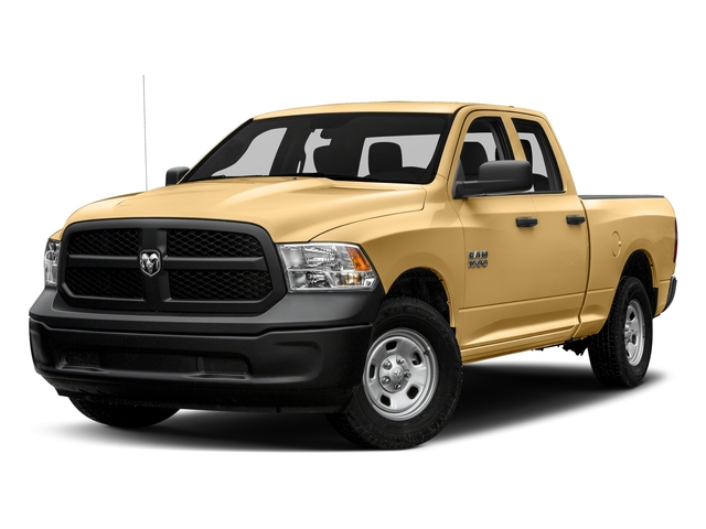 Light Cream 2017 Ram Truck 1500 Pictures 1500 Express 4x2 Quad Cab 6'4 Box photos front view