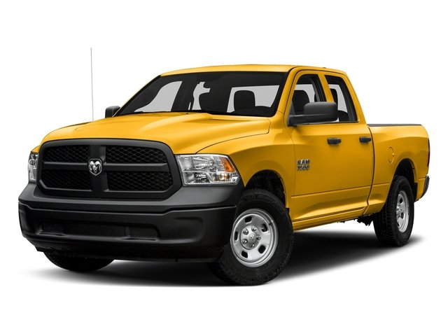 Construction Yellow 2017 Ram Truck 1500 Pictures 1500 Express 4x2 Quad Cab 6'4 Box photos front view