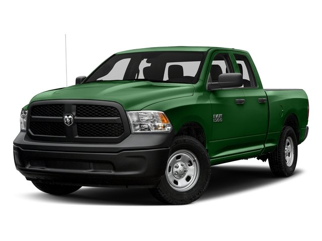 Tree Green 2017 Ram Truck 1500 Pictures 1500 Express 4x2 Quad Cab 6'4 Box photos front view