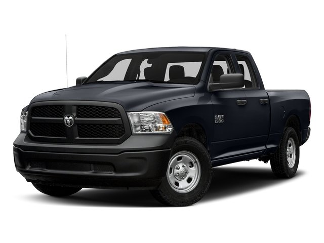 Midnight Blue Pearlcoat 2017 Ram Truck 1500 Pictures 1500 Quad Cab Tradesman 2WD photos front view