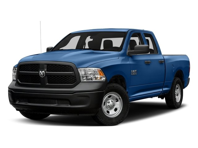 Blue Streak Pearlcoat 2017 Ram Truck 1500 Pictures 1500 Express 4x2 Quad Cab 6'4 Box photos front view