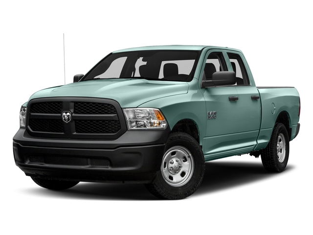 Light Green 2017 Ram Truck 1500 Pictures 1500 Quad Cab Tradesman 2WD photos front view