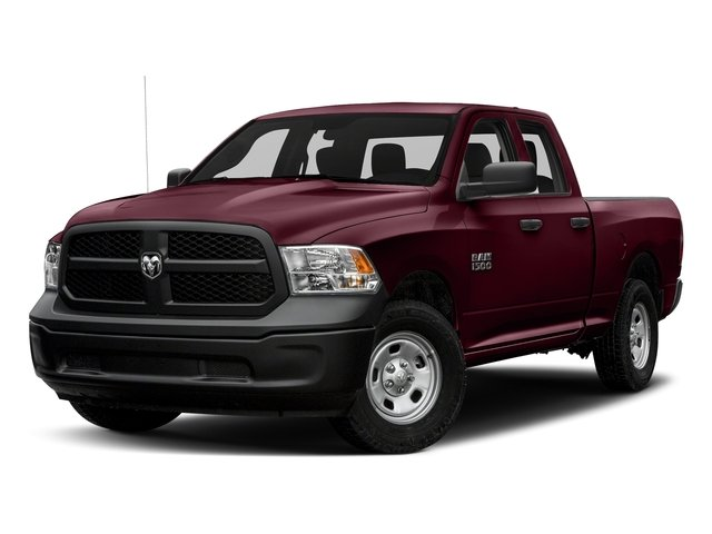 Delmonico Red Pearlcoat 2017 Ram Truck 1500 Pictures 1500 Express 4x2 Quad Cab 6'4 Box photos front view