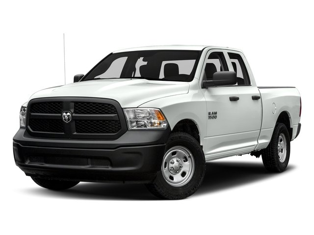 Bright White Clearcoat 2017 Ram Truck 1500 Pictures 1500 Quad Cab Express 2WD photos front view