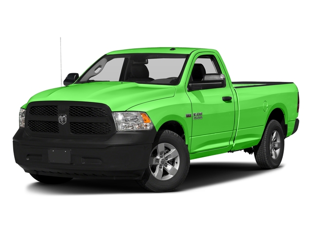 Hills Green 2017 Ram Truck 1500 Pictures 1500 Regular Cab Bighorn/Lone Star 2WD photos front view