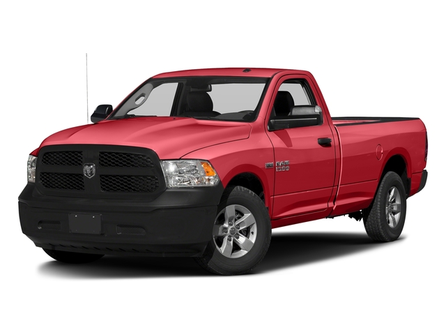 Bright Red 2017 Ram Truck 1500 Pictures 1500 Lone Star 4x2 Regular Cab 6'4 Box photos front view