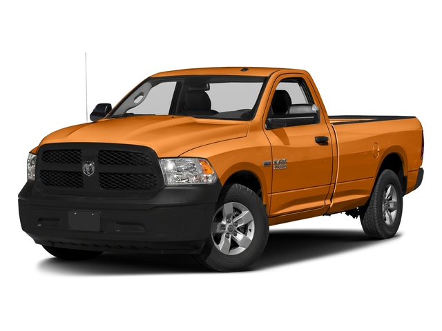 Omaha Orange 2017 Ram Truck 1500 Pictures 1500 Regular Cab Bighorn/Lone Star 4WD photos front view