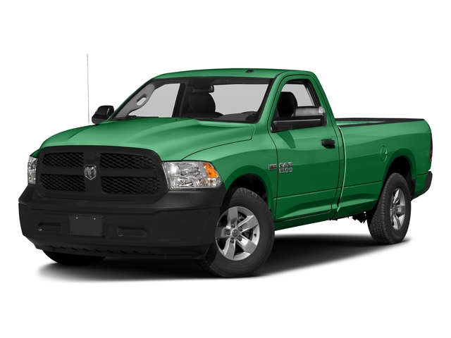 Bright Green 2017 Ram Truck 1500 Pictures 1500 Lone Star 4x2 Regular Cab 6'4 Box photos front view