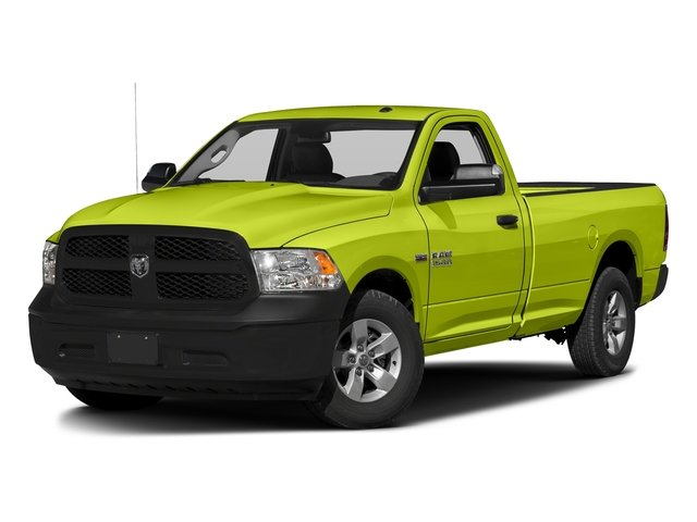 National Safety Yellow 2017 Ram Truck 1500 Pictures 1500 Regular Cab Bighorn/Lone Star 2WD photos front view
